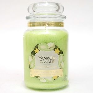 NWT, Yankee Candle Honeydew Melon Large Jar Candle